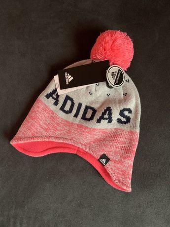 Nowa czapka dziewczeca adidas