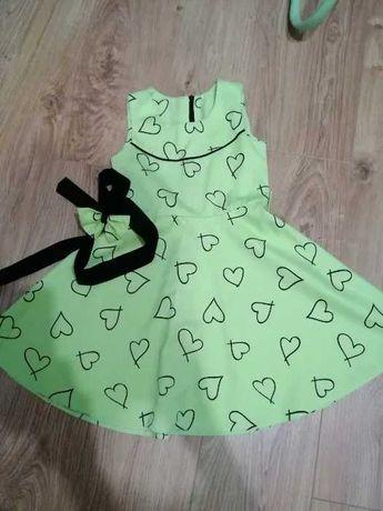 sukienka dla dziewczynki r 128