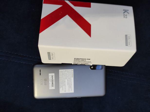 LG K22 nowy szary