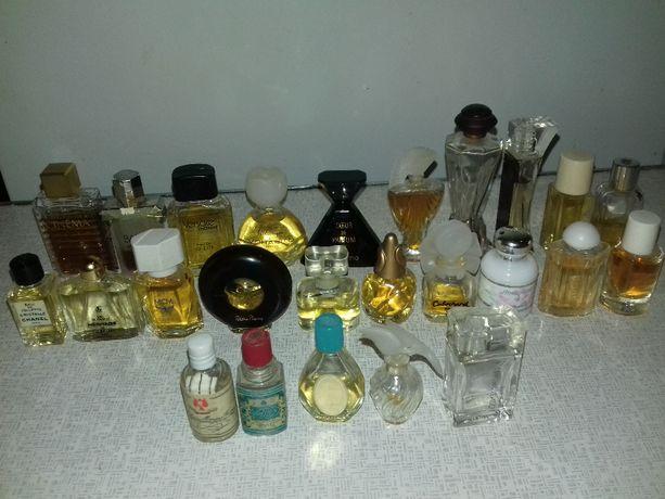 Коллекция винтажной парфюмерии, мини - версии ароматов, винтажные.