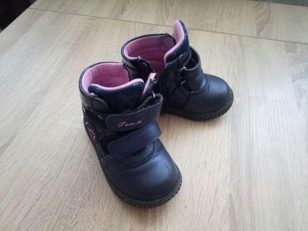Ботиночки сапожки обувь для девочки