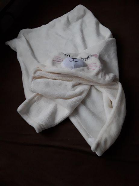 Kocyk ręcznik ciepły stan idealny
