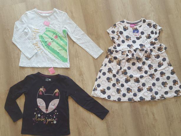 Nowe ubrania dla dziewczynki rozmiar 116