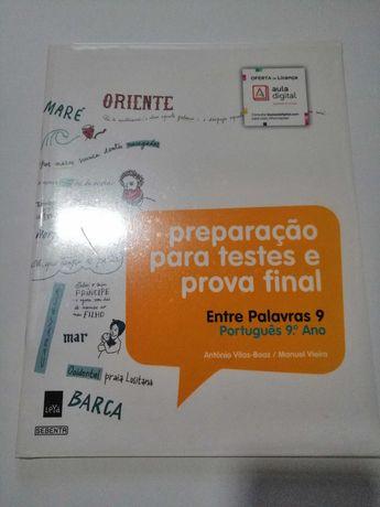 Preparação para testes e prova final- entre palavras- português 9 ano