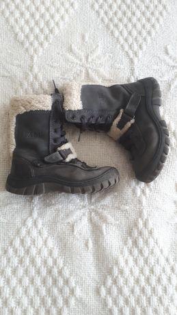 Зимові чоботи, шкіра 27р FABI