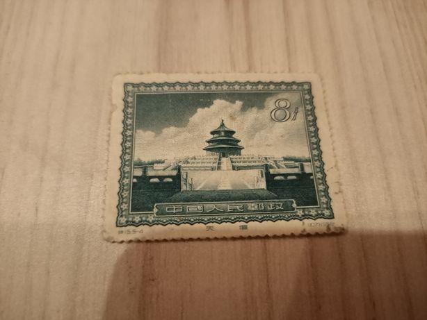 Марка почтовая Китай