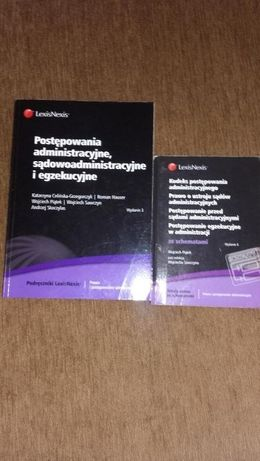 Podęcznik + kodeks Postępowanie administracyjne, sądowoadmini...