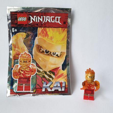 Figurka Lego Ninjago Kai z podwójna mocą płomieni