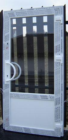 Drzwi zewnętrzne Salamander sklepowe przeszklone, biuro, firma