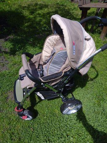 Детская прогулочная коляска Adamex Quatro Monza