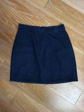 Jeansowa spódnica mini rozm. 36