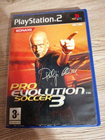 Gra ps2 pro evolution soccer 3
