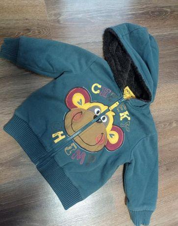 Куртка на шерпі для хлопчика 3-4 р