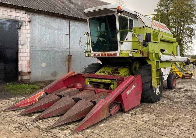 Kombajn Dominator 96 przystosowany do kukurydzy