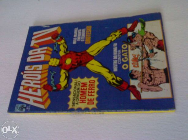 Revista herois da tv número 25