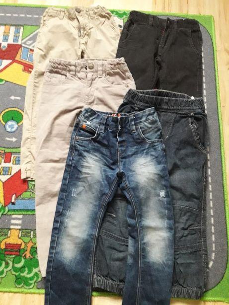 Spodnie jeans Zara Next HM 98-104