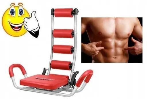 Płaski brzuch i ładna sylwetka - AB Rocket do ćwiczeń w domu + Gratis
