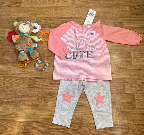 Детский костюм( кофта + лосины)/дитячий костюм на дівчинку
