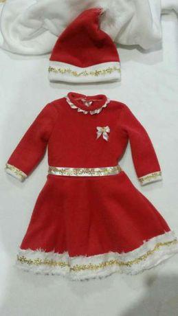 Sukienka dla dziecka w wersji świątecznej