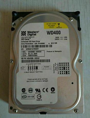 Жесткий диск Western Digital 40 Гб.