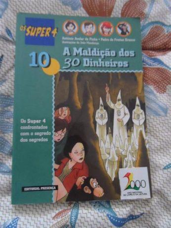 Os super 4 #10 - A maldição dos 30 dinheiros