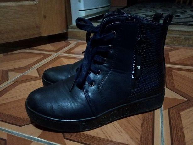 Сапоги ботинки деми 36розмір