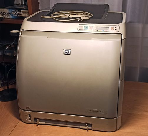 Drukarka HP Color Laserjet 1600 + tonery
