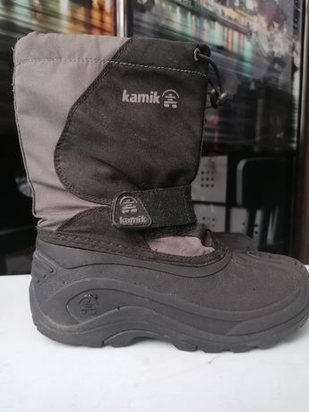 Зимние термо ботинки, снегобутси kamik 32-33 р.