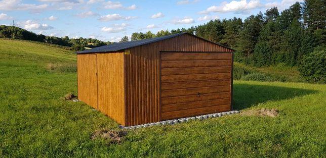 Drewnopodobny Garaż Blaszak Garaze Blaszane Multigross