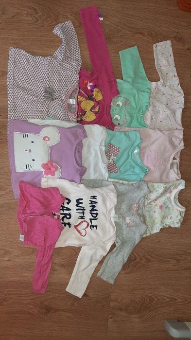 Paka ubrań dla dziewczynki 56-62-68 Poznań - image 1