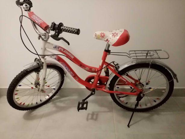 Rower dla dziewczynki dziewczęcy 20 cali