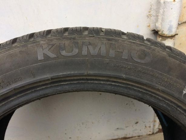 Продам зимнюю резину kumho б/у 205/45 R16 87H
