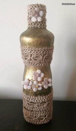 Garrafa/jarra decorativa