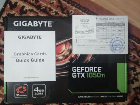 Продам/Обменяю видеокарту GIGABYTE nvidea geforce 1050ti