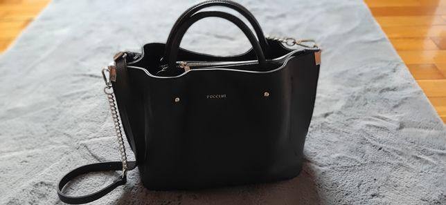 Sprzedam czarną torebkę Puccini