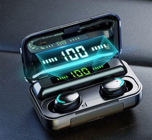 Дешево! TWS Bluetooth наушники V5.0 9D беспроводные на подарок