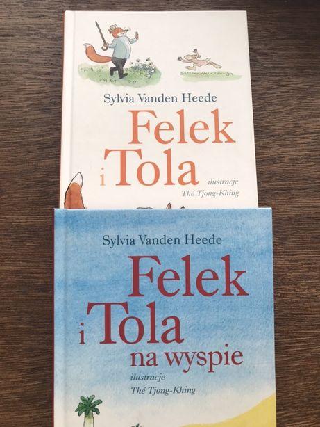 Zestaw 2x książek Felek i Tola - nauka czytania