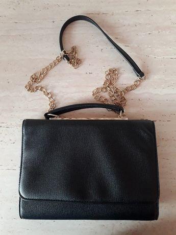 Mała czarna torebka z łańcuszkiem Jenny Fairy
