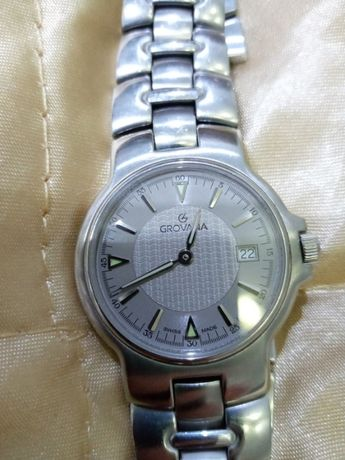 часы Grovana оригинал Швейцария кварц Omega идеал