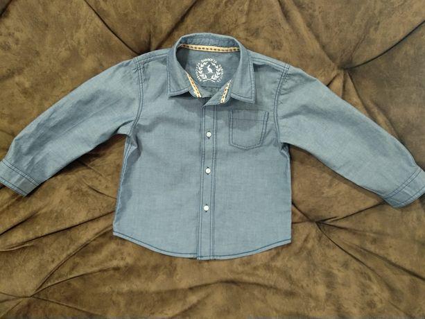 Рубашка для мальчика ZARA Baby Boy на 2-3 года (98-104 см).