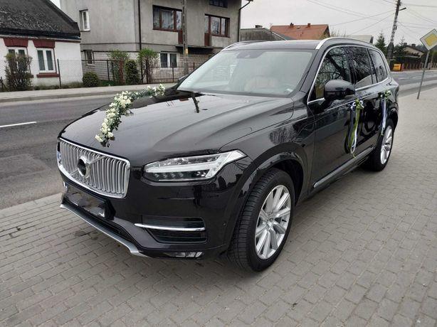 Wynajem auta do ślubu Volvo XC90 Inscription
