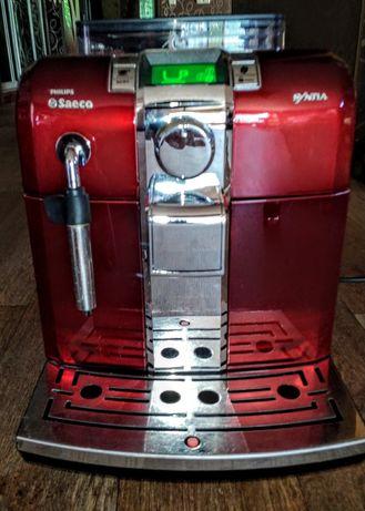 кофемашинаPhilips-Saeco Syntia rot HD8837