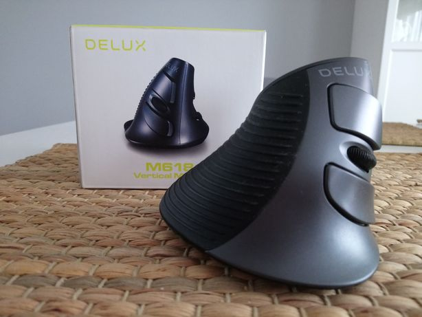 Mysz pionowa Delux M618