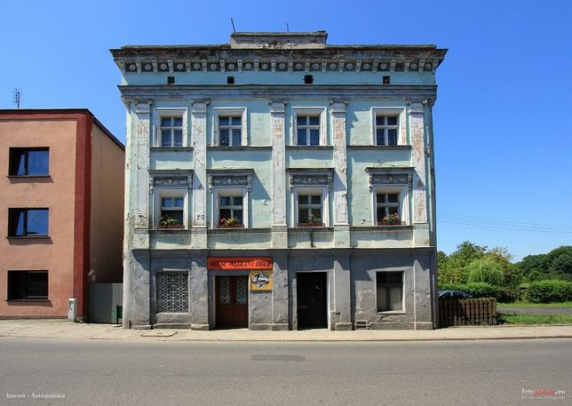 Kamienica i dom w centrum Baborowa