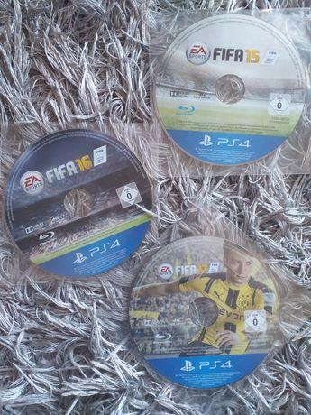 Pack FIFA 15 + FIFA 16 + FIFA 17  PS4