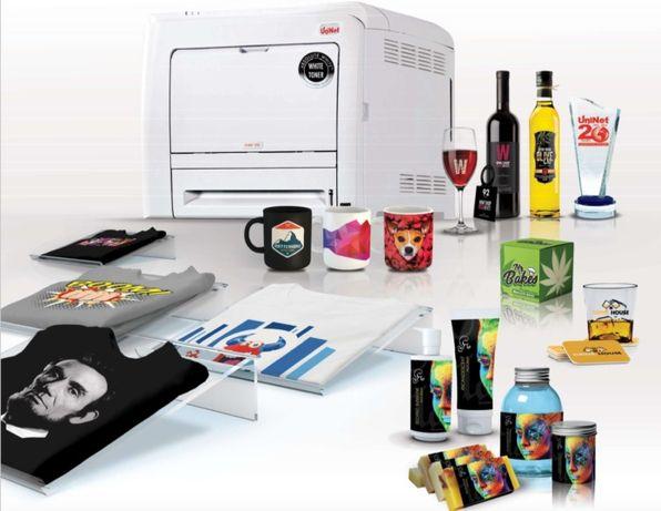 Impressora laser A4 tóner branco Uninet iColor® 540 troca por rtx 3090