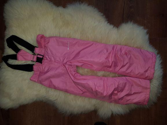 Rózowe spodnie narciarskie GLACIER POINT 6/7L ideał jreima