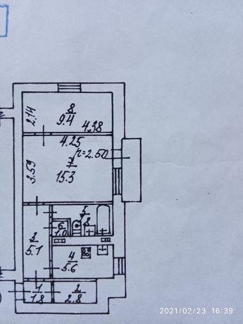 Продам 2-х комнатную квартиру в Калининском районе Донецка.