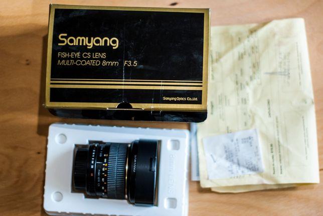 Samyang fisheye 8mm f3.5 pentax