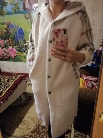 Пальто с альпаки
